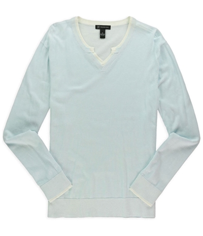 I-N-C Mens Water Plaited Pullover Sweater
