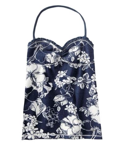 Aeropostale Womens Floral Cami Tank Top