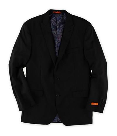 Tallia Mens Pinstripe Two Button Blazer Jacket