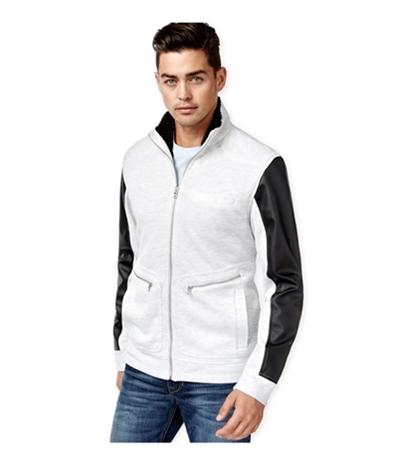 I-N-C Mens Faux-Fur Lined Harrington Jacket