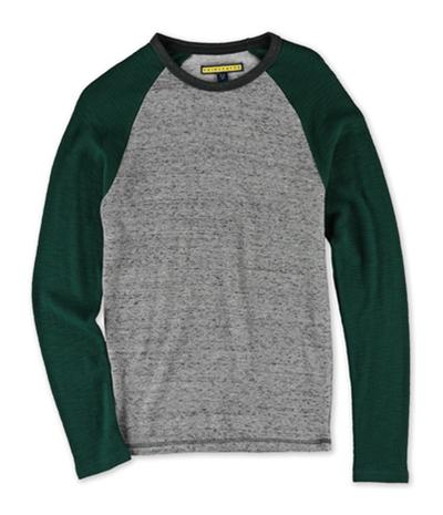 Aeropostale Mens Raglan Thermal Sweater