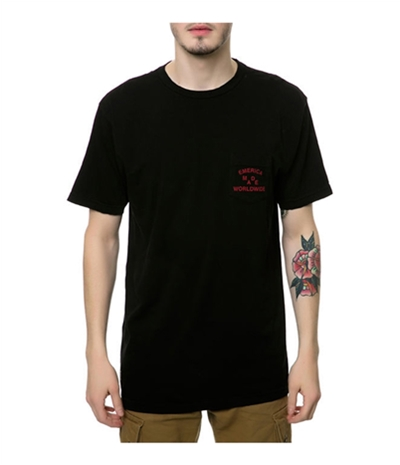 Emerica. Mens The Emerica Worldwide Graphic T-Shirt