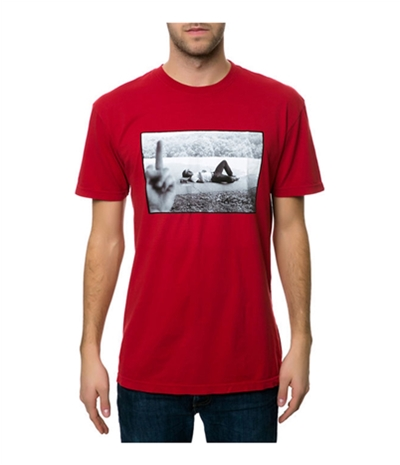 Emerica. Mens The Leo Middle Finger Graphic T-Shirt
