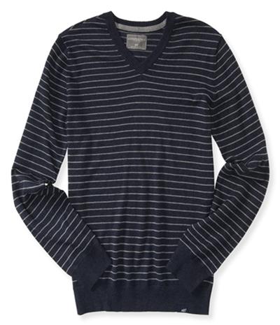 Aeropostale Mens Striped Pullover Sweater