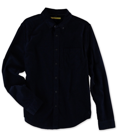 Aeropostale Mens Corduroy Button Up Shirt