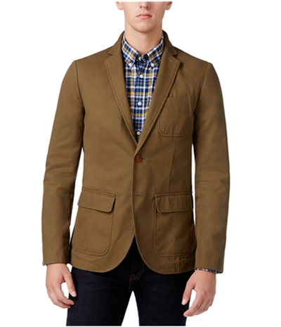 Tommy Hilfiger Mens Fredrick Two Button Blazer Jacket