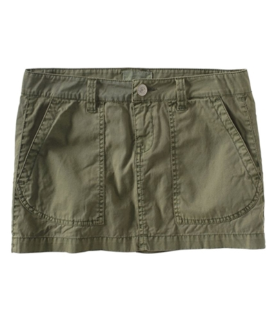 Aeropostale Womens Chino Khaki Mini Skirt