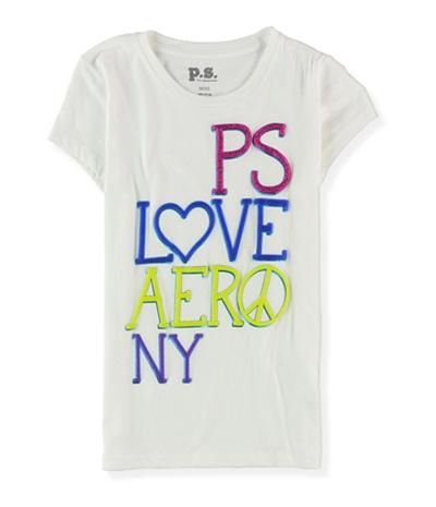 Aeropostale Girls Love Graphic T-Shirt