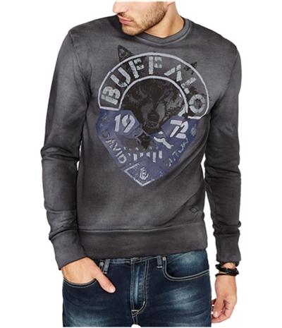 Buffalo David Bitton Mens Logo Sweatshirt