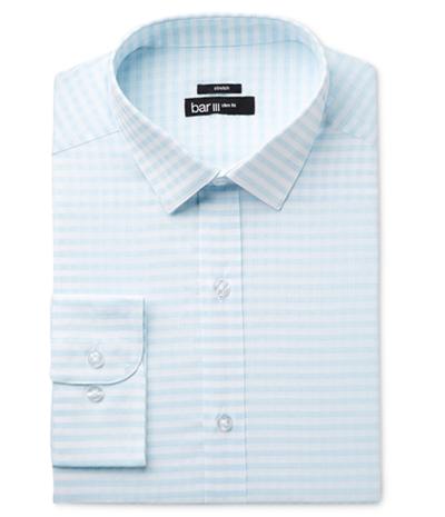 Bar Iii Mens Twill Button Up Dress Shirt