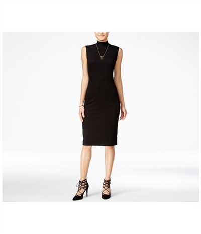One Clothing Womens Ribbed Bodycon Dress