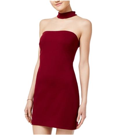 Speechless Womens Chocker Bodycon Dress