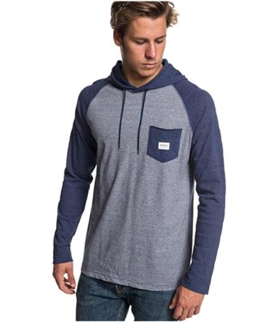 Quiksilver Mens Michi Hoodie Basic T-Shirt