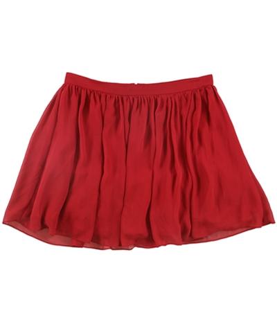 Bee Darlin Womens Solid A-Line Skirt