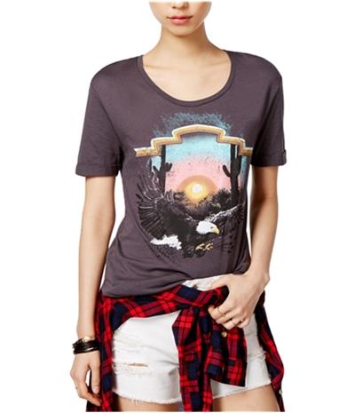 Carbon Copy Womens Eagle Graphic T-Shirt