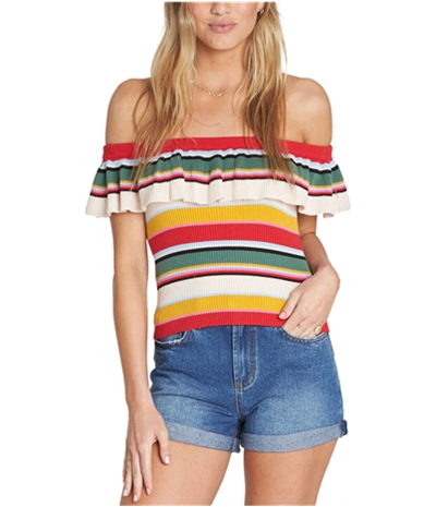 Billabong Womens Take A Trip Pullover Sweater