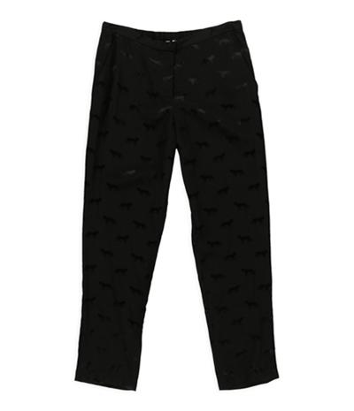 Petticoat Alley Womens Cheetah Cig Casual Lounge Pants