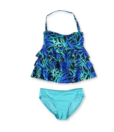 Island Escape Womens Tahiti Shaper Pant 2 Piece Tankini
