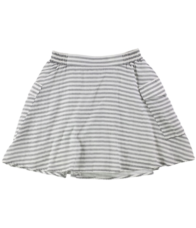 Bcbg Womens Striped A-Line Flared Skirt