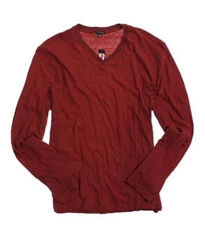 Sons Of Intrigue Mens Ls V-Neck Basic T-Shirt