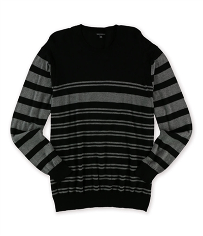 Sons Of Intrigue Mens Horizontal Stripe Pullover Sweater