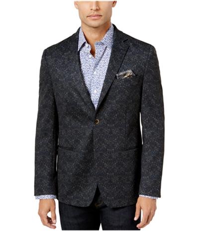 Tallia Mens Slim-Fit Pattern Two Button Blazer Jacket