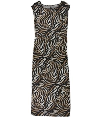 W118 Womens Tiger Maxi Dress