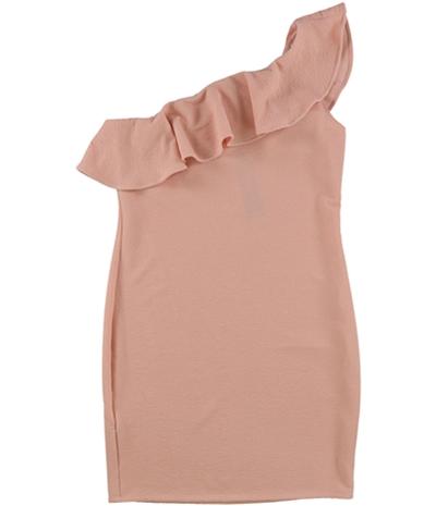 Bcbg Womens Bodycon One Shoulder Dress