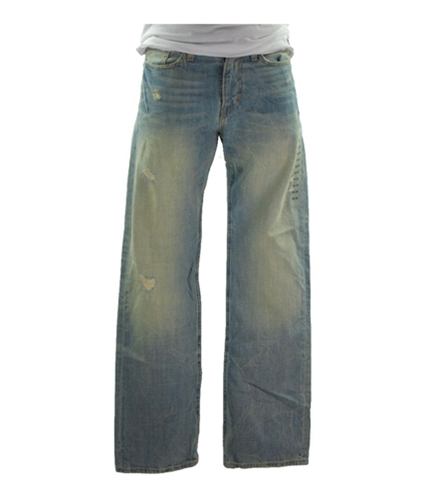 American Eagle Outfitters Mens Low Boot Straight Leg Jeans light 26x28