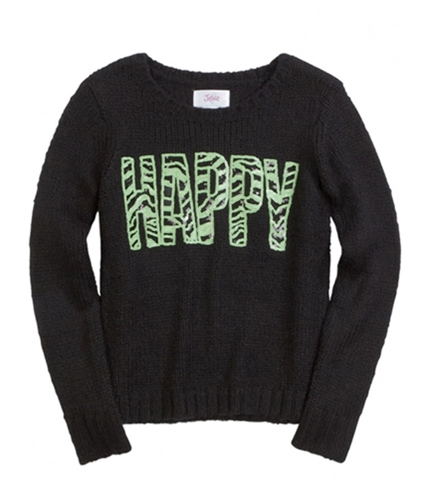 Justice Girls Happy Knit Sweater 610 14 1/2