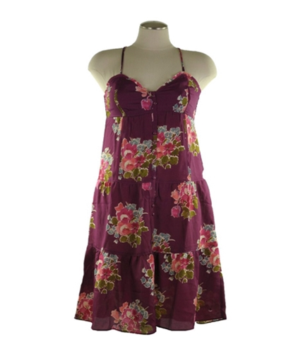 American Eagle Outfitters Womens Floral Racer Back Sundress 126 2