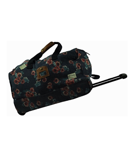 American Eagle Outfitters Womens Rolling Travel Upright Suitcase Luggage 410