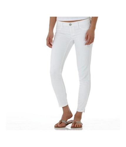 American Eagle Outfitters Womens Low Rise Ankle Skinny Fit Jeans white 9/10x32