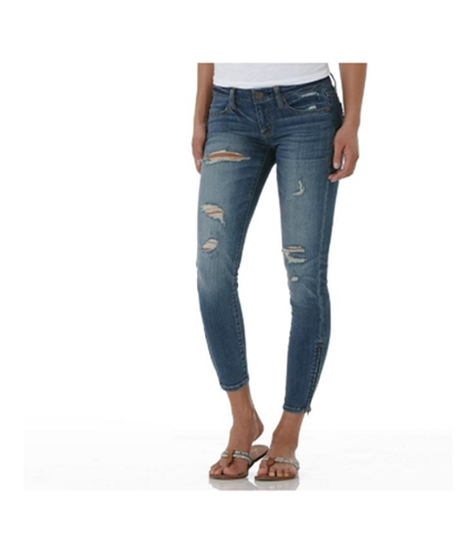 American Eagle Outfitters Womens Low Rise Regular Fit Jeans distressed 0x26