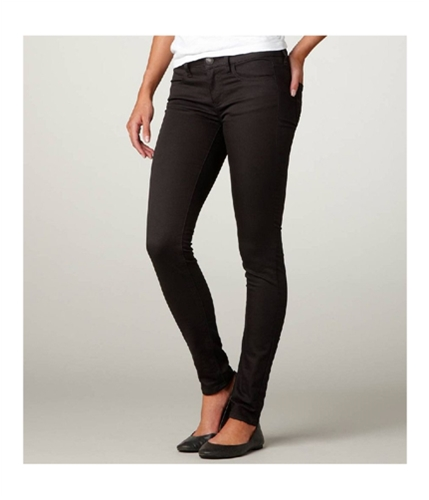 American Eagle Outfitters Womens Low Rise Ankle Skinny Fit Jeans blackgray 0x32