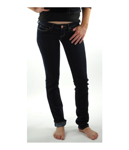American Eagle Outfitters Womens Low Rise Skinny Fit Jeans deepindigo 00x34