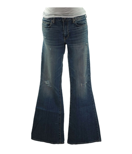 American Eagle Outfitters Womens Classic '77 Flared Jeans indigo 00x32