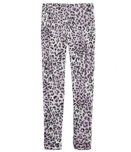 Justice Girls Printed Stretch Athletic Track Pants