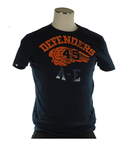 American Eagle Outfitters Mens Defenders 45 Graphic T-Shirt 000 S