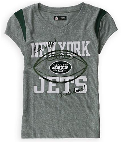 Justice Girls New York Jets Graphic T-Shirt graygreen 6/7