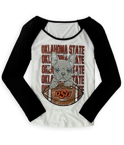 Justice Girls Oklahoma State Graphic T-Shirt whiteorange 8