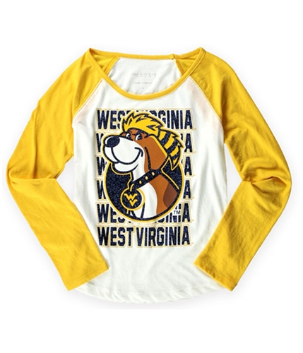 Justice Girls West Virginia Graphic T-Shirt whiteyellow 8
