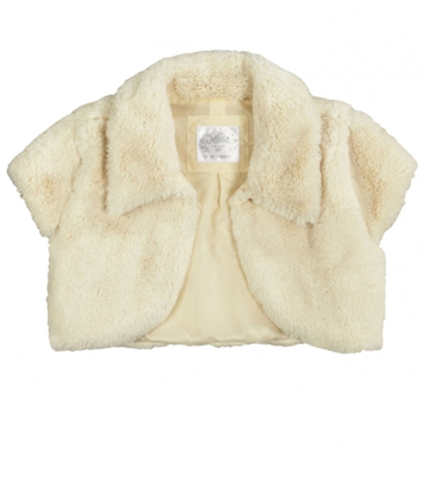 Justice Girls Faux Fur Bolero Jacket