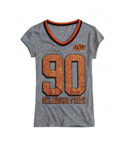 Justice Girls Oklahoma State Graphic T-Shirt grayorange 6
