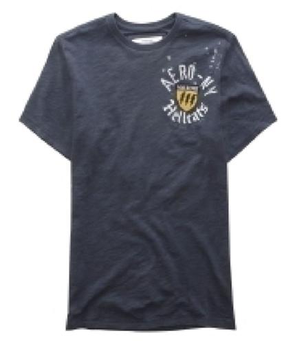 Aeropostale Mens Hellcats Graphic T-Shirt slategray XS