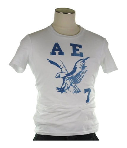 American Eagle Outfitters Mens A E 7 Vintage Fit Graphic T-Shirt 100 XS