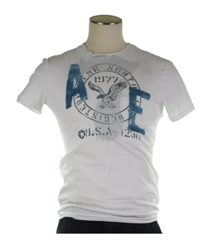 American Eagle Outfitters Mens U.s.a Graphic T-Shirt 100 XS