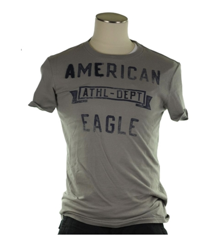 American Eagle Outfitters Mens Athl-dept Graphic T-Shirt gray XS