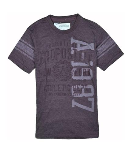 Aeropostale Mens Athletic Dept Graphic T-Shirt burgundy XS
