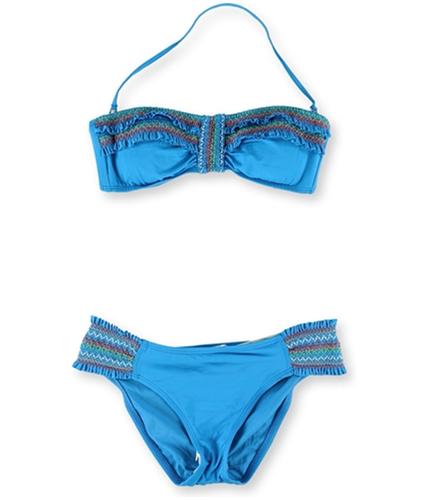 Lucky Brand Womens Fiesta Hipster 2 Piece Bikini mns S